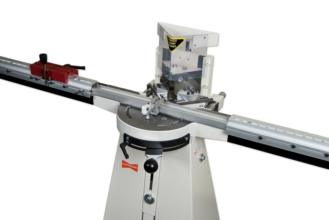 Morso NM manual face frame notching machine with DGS 1000 fence system, by Hoffmann-USA.com