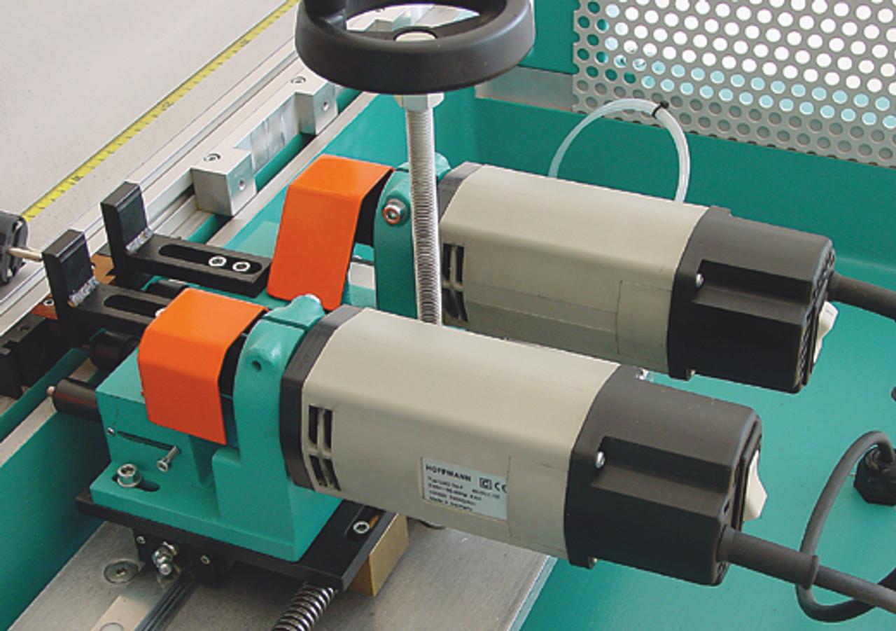 Hoffmann PU2-TAB Pneumatic Dovetail Routing Machine  W1074000 - router motor detail 1