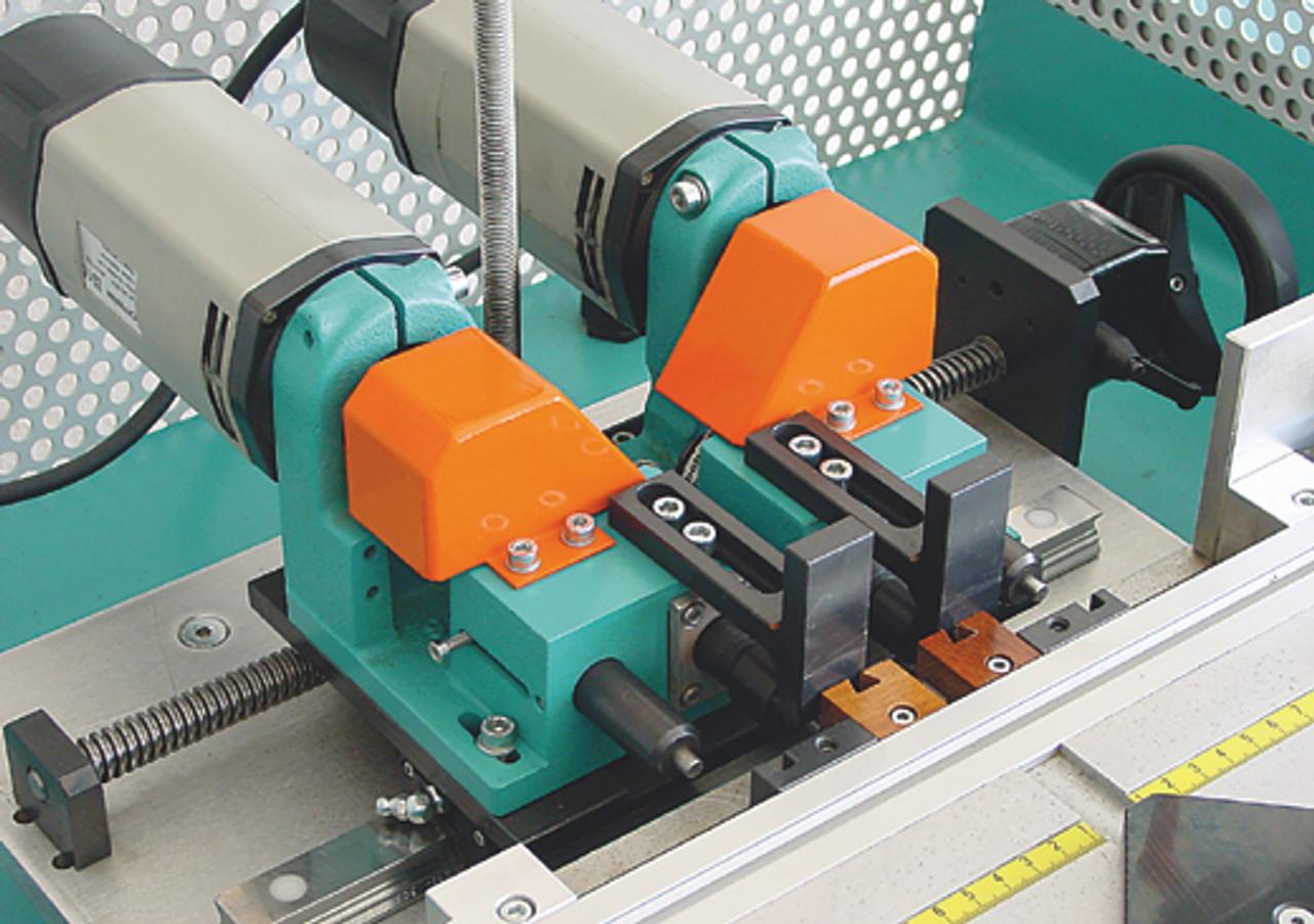 Hoffmann PU2-TAB Pneumatic Dovetail Routing Machine  W1074000 - router motor detail 2
