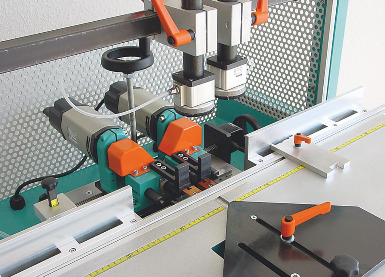 Hoffmann PU2-TAB Pneumatic Dovetail Routing Machine  W1074000 - router motor detail 3