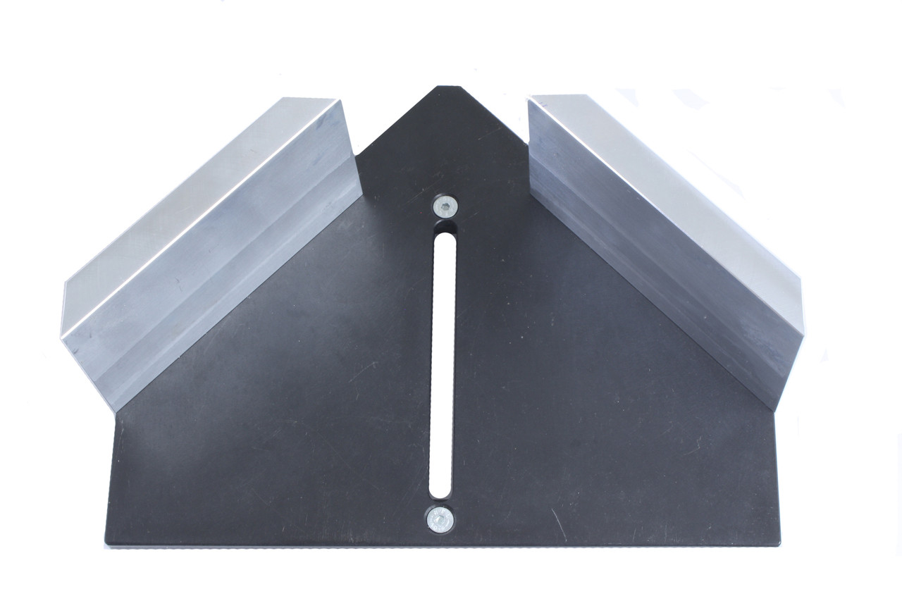 Fence Plate, tall, for X-20 & MU2 - 45° - with Height Extensions (W3900041)