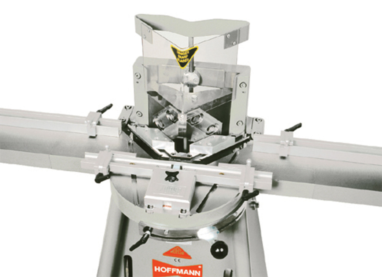 MORSO NFXL manual face frame notching machine by Hoffmann-USA.com