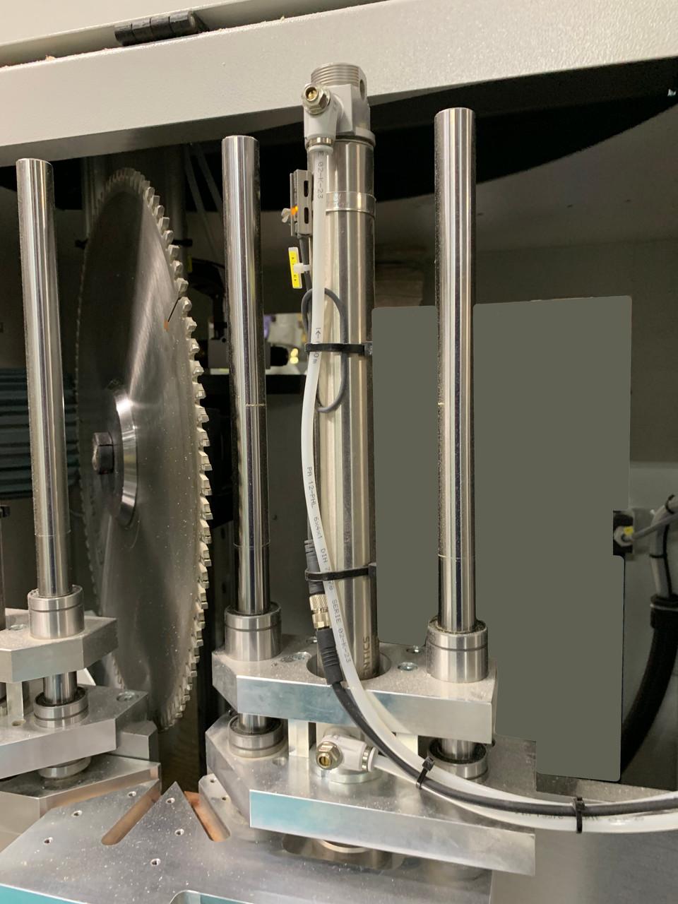 Hoffmann ACS-1 saw blade detail