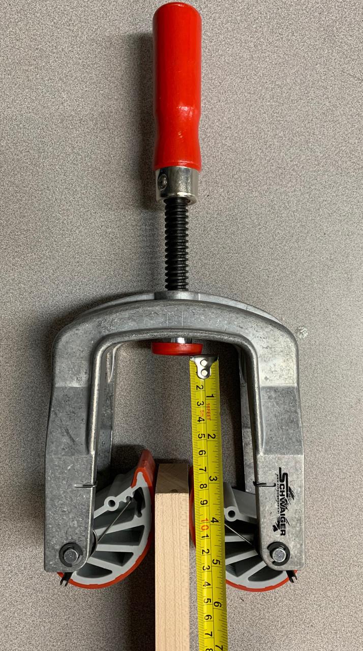 """Edge Clamp Standard-alumium  10 - 48mm (3/8"""" - 1 7/8"""")"""