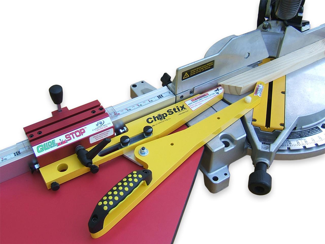 GS-118 - GlideStop-ChopStix on Saw, by Hoffmann-USA.com.jpg