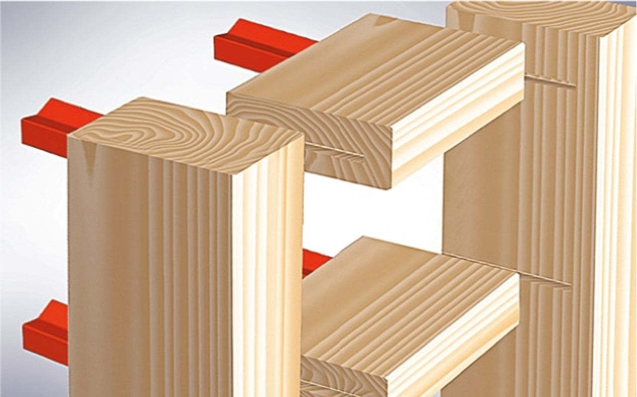 Hoffmann W-4 Dovetail Key, post and beam construction