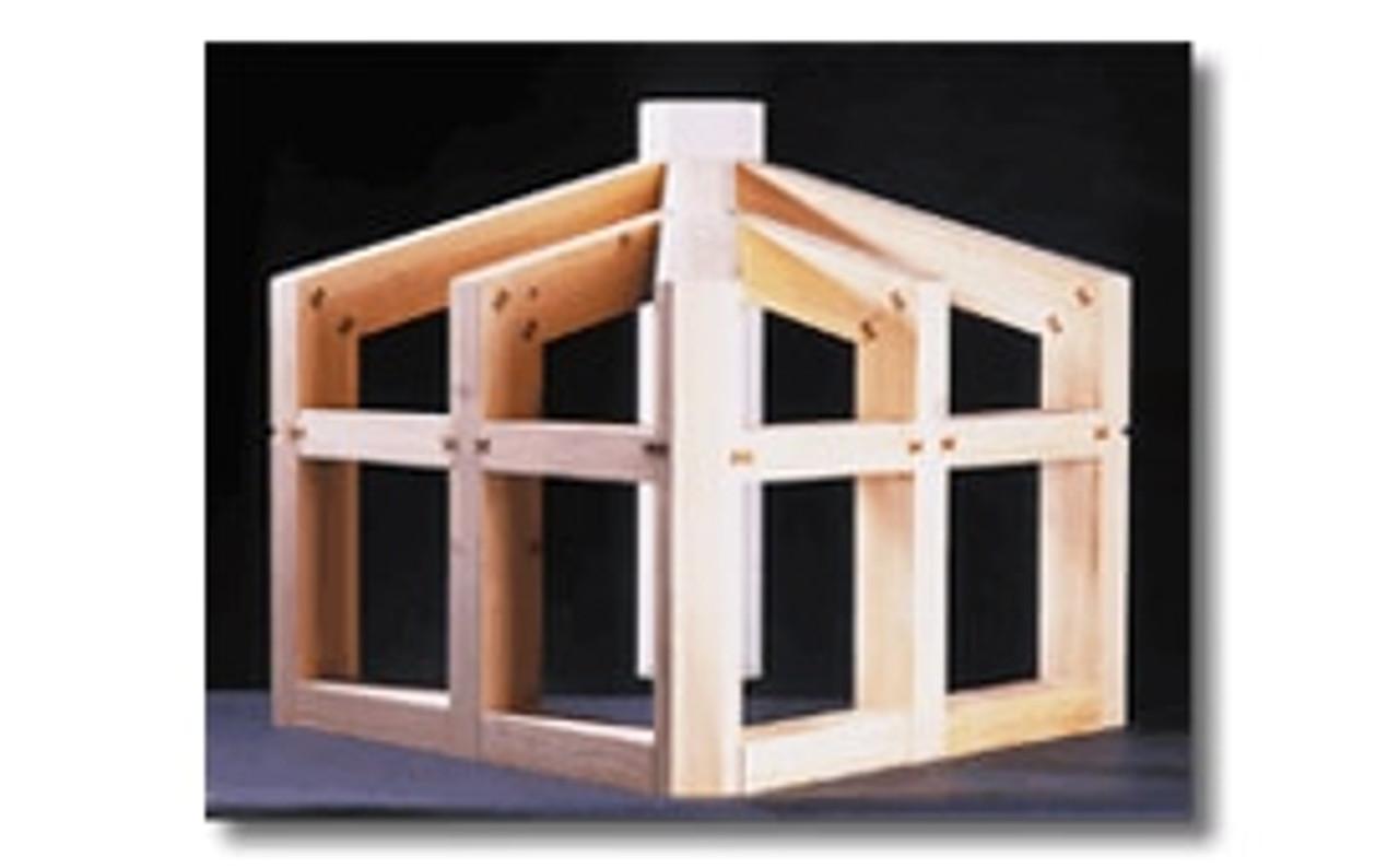 Hoffmann W-4 Dovetail Key, timber framing