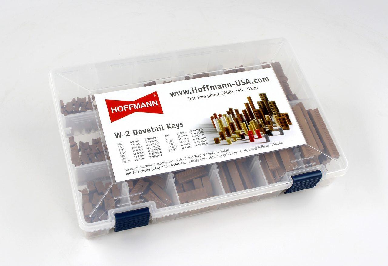 Hoffmann W-2 Dovetail Key Sample Case  , closed