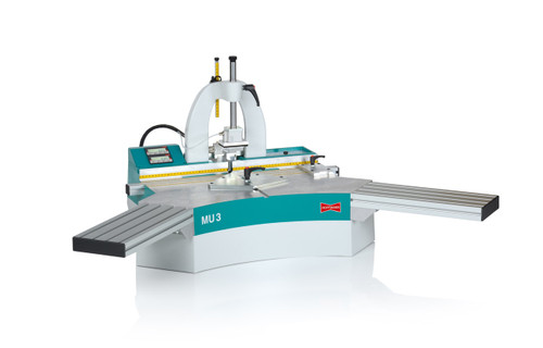 Hoffmann MU3-PD Pneumatic Dovetail Routing Machine with Digital Position Display