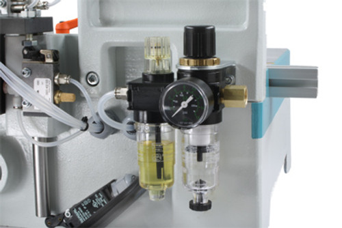 HP 1827231009 Pneumatic pressure gauge, small, for MU2-P machines