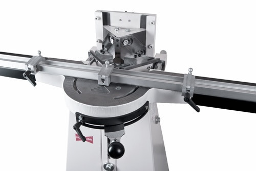 N0076 - Morso NM manual face frame notching machine - close up, by Hoffmann-USA.com