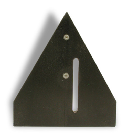 X-18 Fence Plate - 30° - for hexagon frames  W3020000