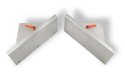 Inside Corner Fences w. Height Extensions - for X-20, MU2, MU2-P (W3900040)