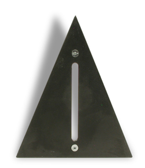 Fence Plate for PU2 - 22.5° - for octagon frames  W3103000