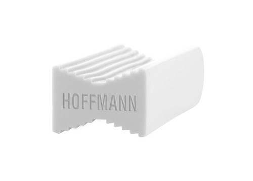 Hoffmann Dovetail Key, W-2, white plastic