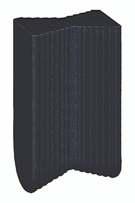Hoffmann Dovetail Key, W-2, black plastic
