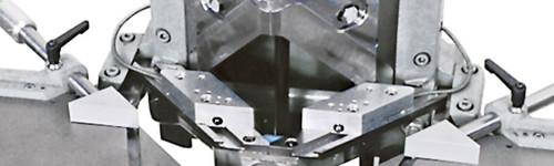 MORSO NXLEH notching machine close-up, by Hoffmann-USA.com