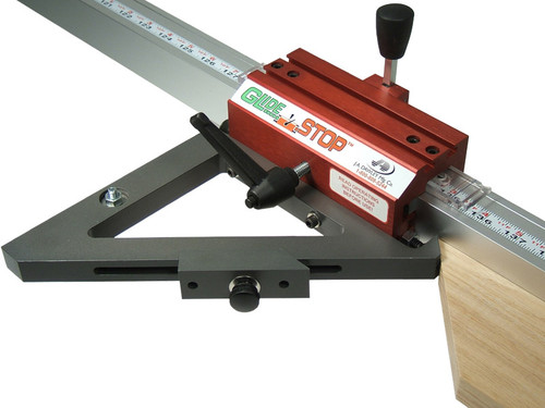 GlideStop Combination Inside - Outside Miter Fence GS-111, tip-to-tip measurement, by Hoffmann-USA