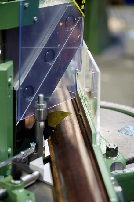 Close-up 2 - MORSO EFG electric miter cutting machine - 230 volt - 3 phase (N20095-3P)