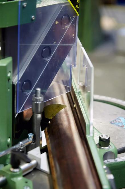 Close-up 2 - MORSO EFG electric miter cutting machine - 230 volt - single phase (N20095-1P)