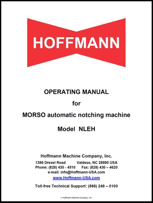 Operating Manual for Morso NLEH