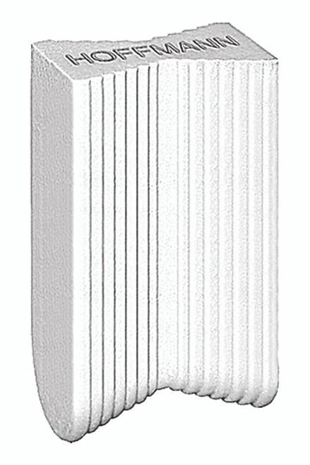 Hoffmann W-2 Dovetail key, white plastic
