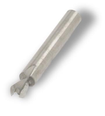 Hoffmann W 2 Dovetail Router Bit 1 4 Shank Solid Carbide