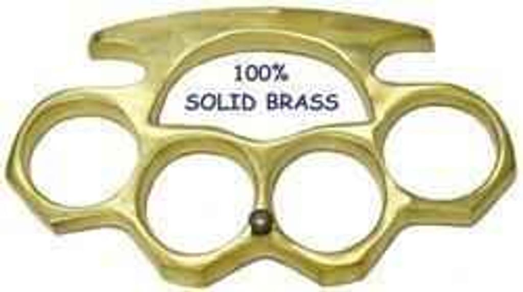 Knockout Knucks Real Brass Knuckles