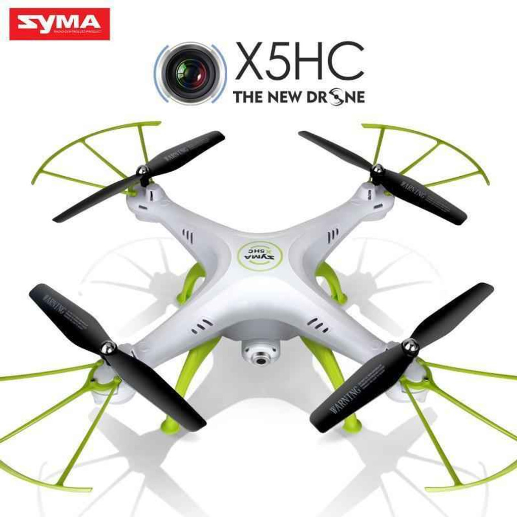 Knockout Knucks Syma Quadcopter X5HC 2.4G Drone With HD Camera