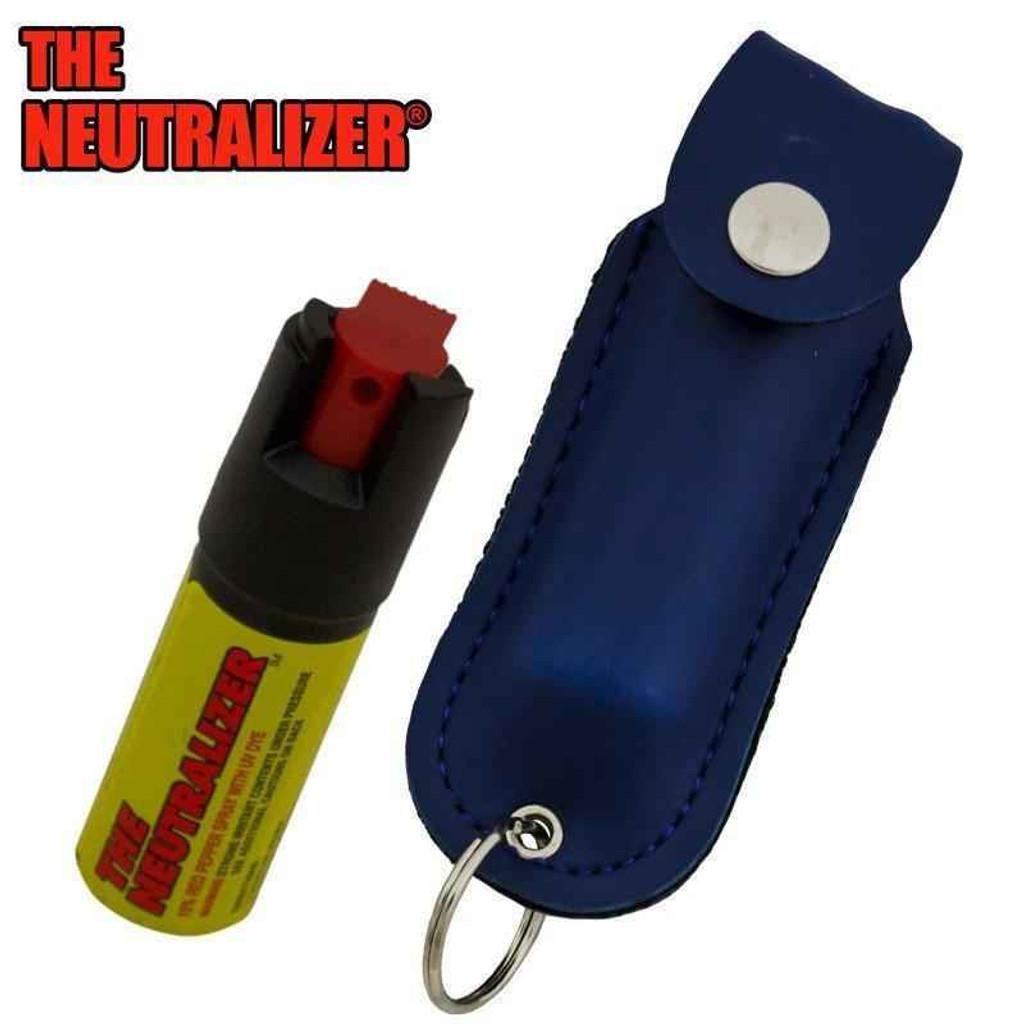 Knockout Knucks Neutralizer Pepper Spray - Blue