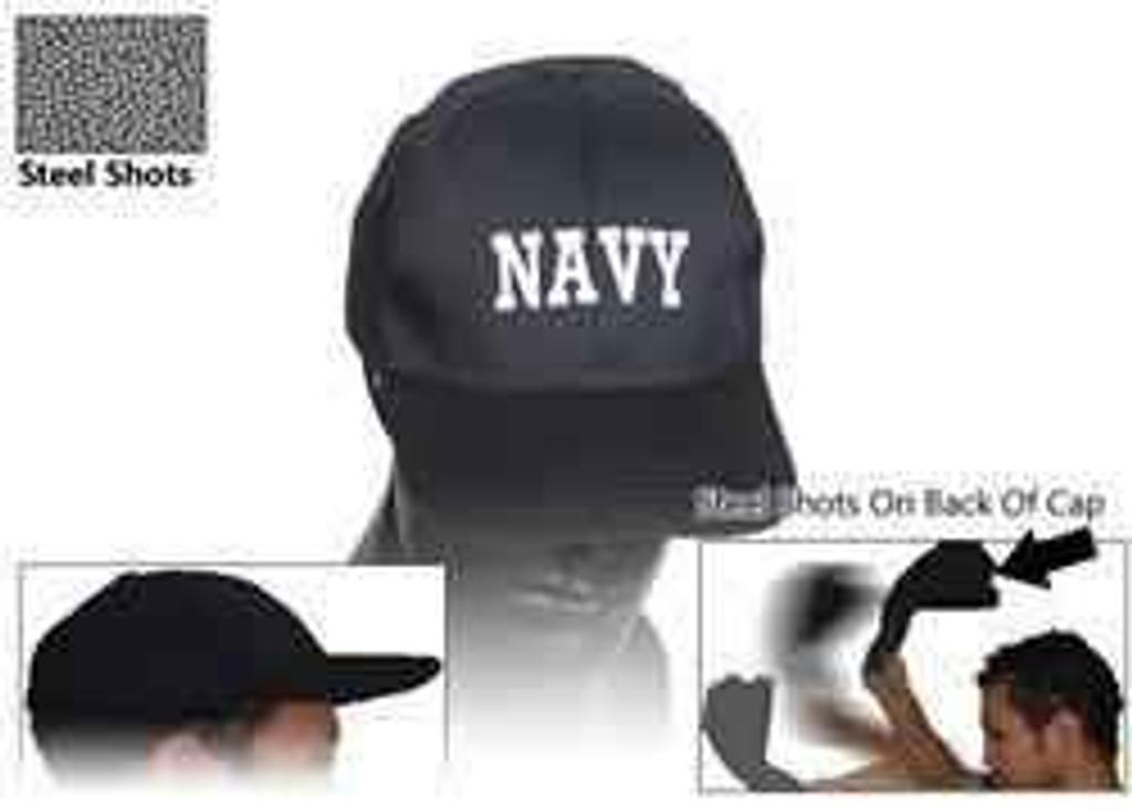vendor-unknown Navy Sap Cap