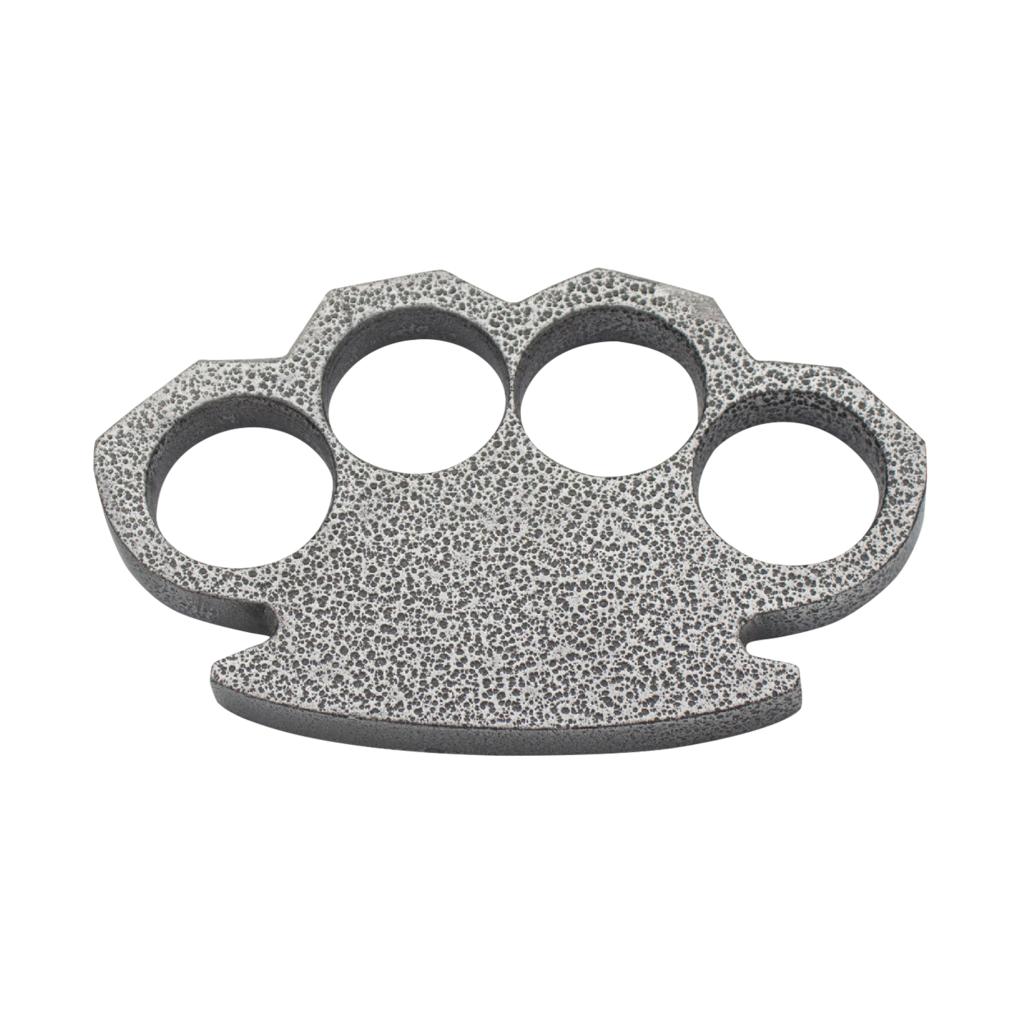 Knockout Knucks Steam Punk Compact Gray Aluminum Knuckles