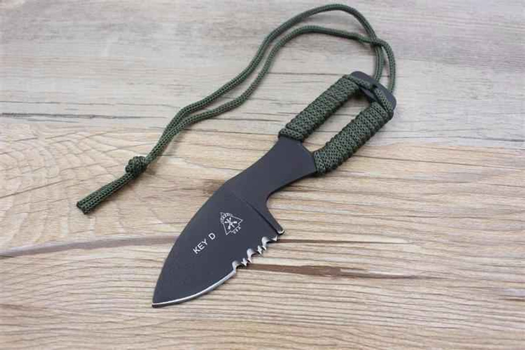 Knockout Knucks Fixed Blade Outdoor Hunting Knife