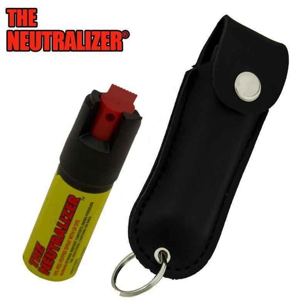 Knockout Knucks Neutralizer Pepper Spray - Black