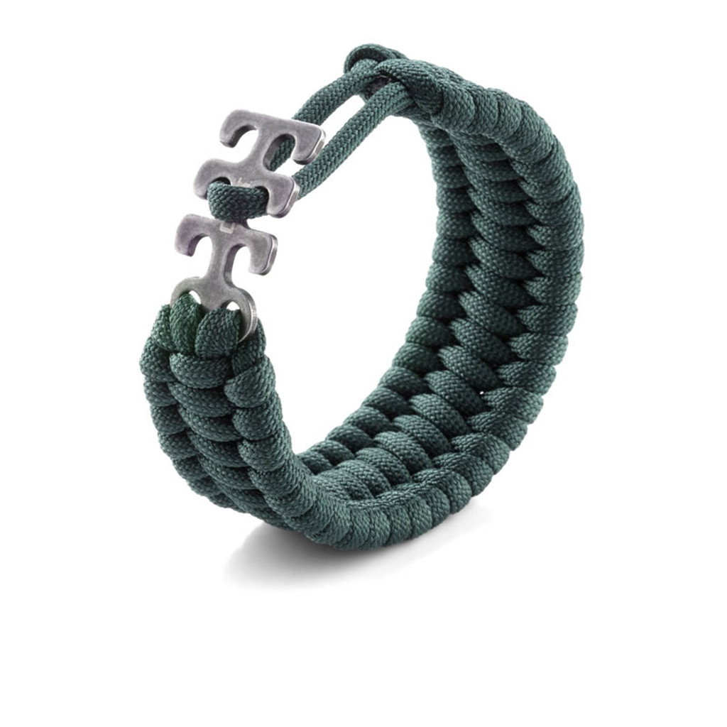 <p><big>It&#039;s a one-size-fits-all solution for varying degrees of danger.</big></p>  <p><big>Tom Stokes designed his series of adjustable paracord survival bracelets for superior lashing in small, medium and large-sized emergency situations. Available in black, camo, green, tan, pink and black, they&#039;ve got you covered no matter how big your wrist. They&#039;re also compatible with the other Stokes Paracord Survival Accessories like the Fire Starter, Compass, L.E.D. Light and Bottle Opener. Be prepared for an everyday anything.</big></p>  <p><big>In designing the Adjustable Paracord, Williamsburg, Virginia resident Tom Stokes, wanted a survival accessory that people would actually wear. Applying technology understanding from his years in the aerospace industry, Stokes creates tools with a rare balance of artistic form and function, and the flat, low profile, comfortable weave pattern of the Adjustable Paracord Bracelet ensures that it will fit almost anyone, securely but not too tightly, while still being stylish.</big></p>  <p><big>The bracelet features a uniquely designed easy-to-use latch system that comfortably fits wrists anywhere from 7 to 8 inches in size, to avoid loose fittings and danger of snags. It&#039;s a dialed-in bracelet that works for every owner. And now, when danger calls, you have 9.5 feet of paracord at the ready for cinching logs together, tying things down, or for whatever other survival tactics you&#039;ll need to execute with it.&nbsp;</big></p>  <p><big>Dimensions</big></p>  <p><big>Open Overall Length&nbsp;&nbsp; &nbsp;9 inches<br /> Weight&nbsp;&nbsp; &nbsp;0.9 ounces</big></p>  <p><big>Options</big></p>  <p><big>Includes 1&nbsp;&nbsp; &nbsp;Approx. 9.5 ft. Paracord</big></p>