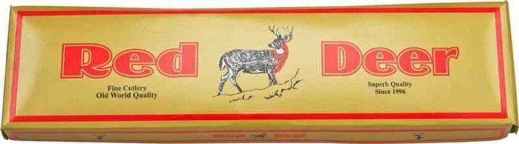 Knockout Knucks Red Deer Hunting Knife Buffalo Horn Handle