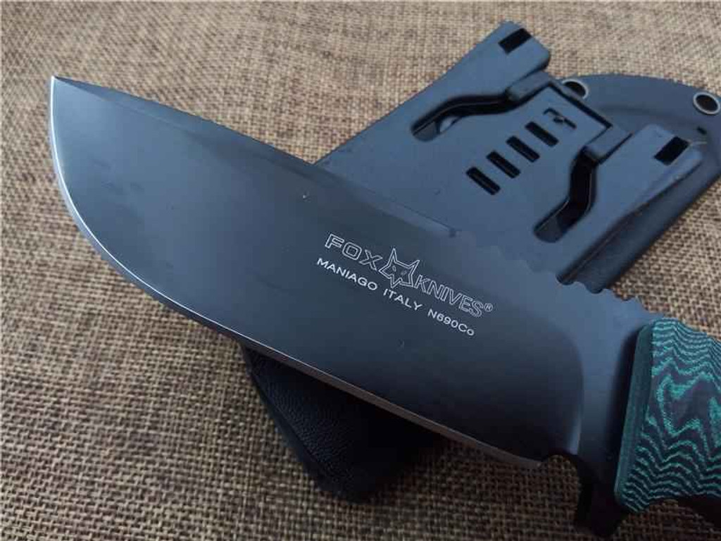 Knockout Knucks Fox FX 131 Fixed Blade Hunting Knife