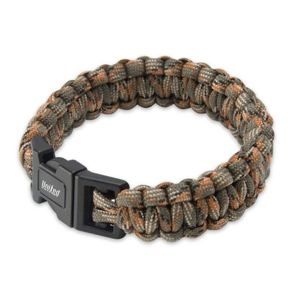 United Cutlery Camo Elite Forces Survival Bracelet