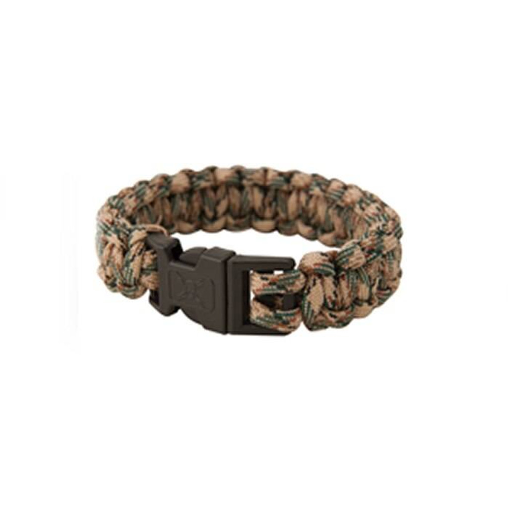 United Cutlery Elite Forces Paracord Bracelet Tan Camo Small