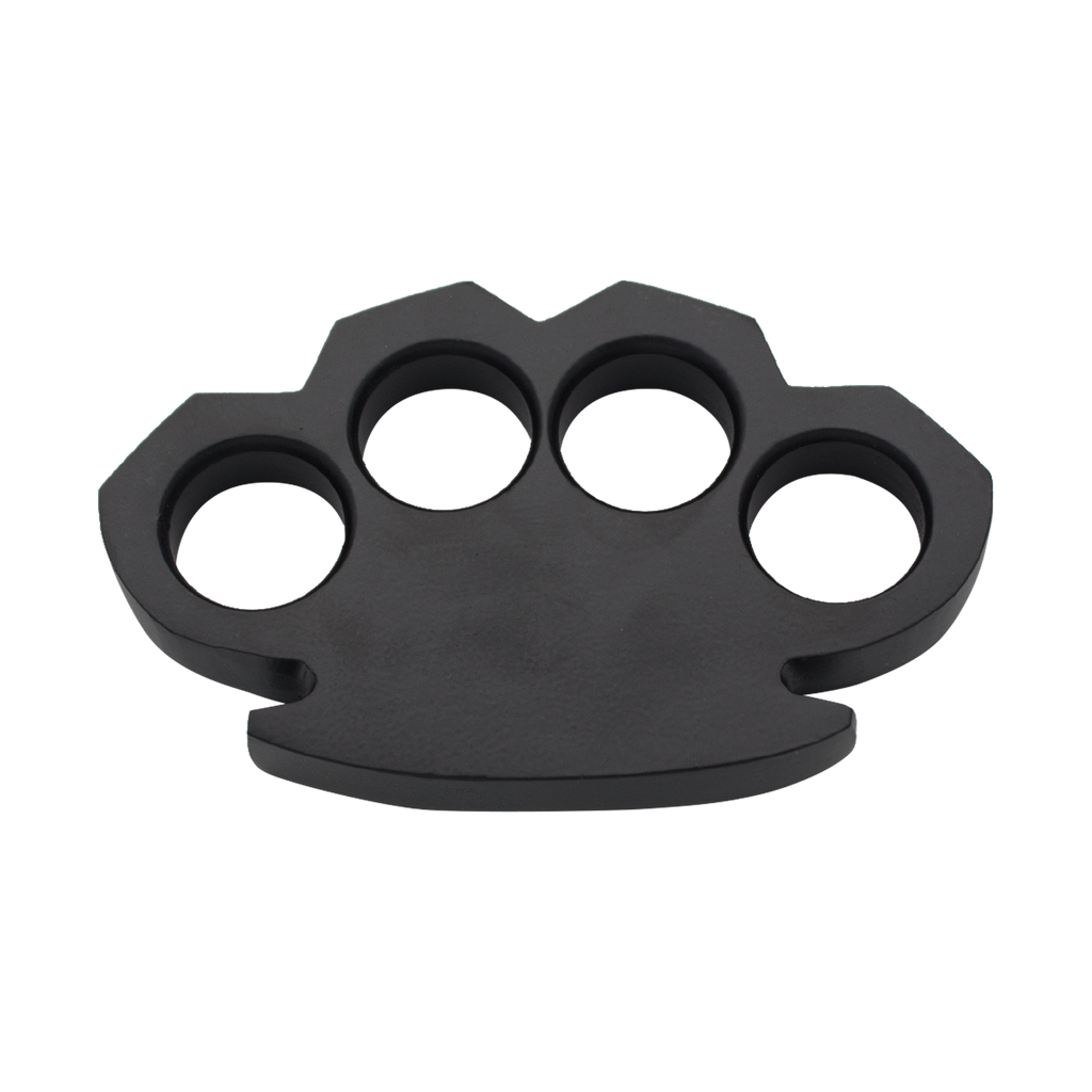 Steam Punk Solid Black Steel Knuckle (600 Grams)