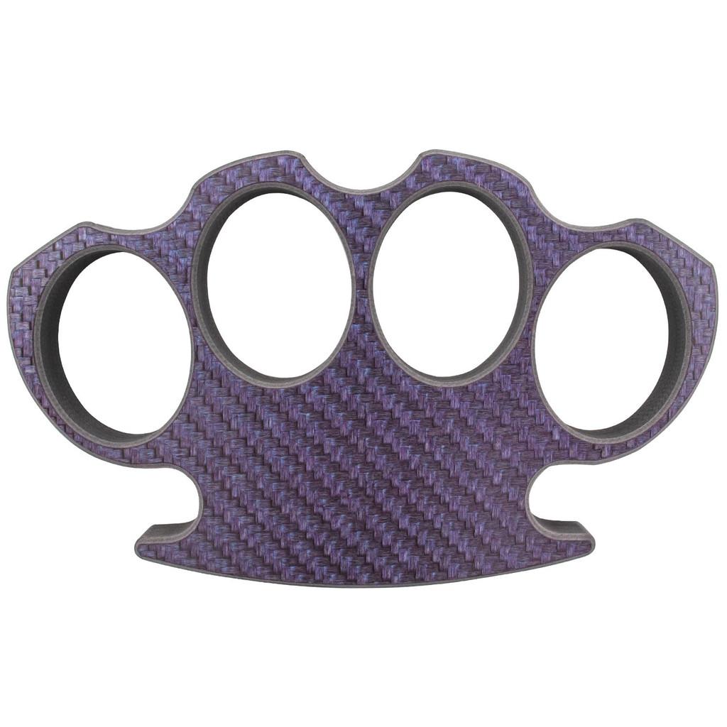 Purple Carbon Fiber Brass Knuckle