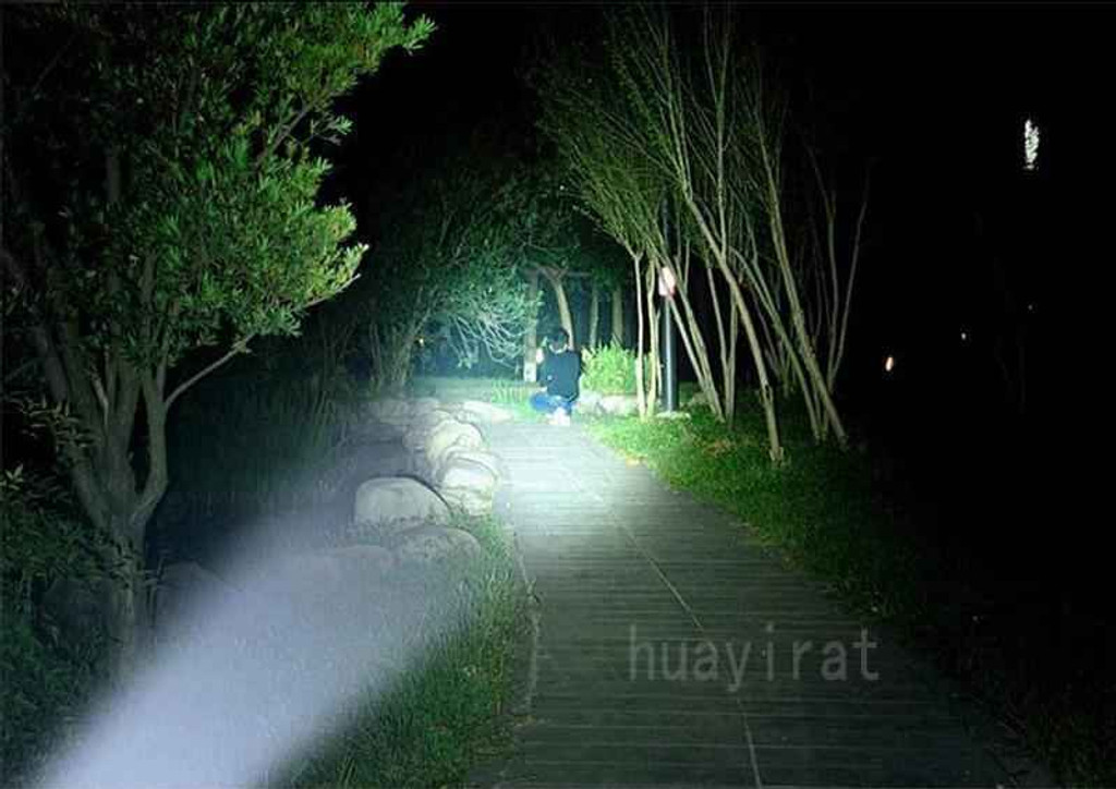 Knockout Knucks Police Flashlight Telescopic Tactical Baton
