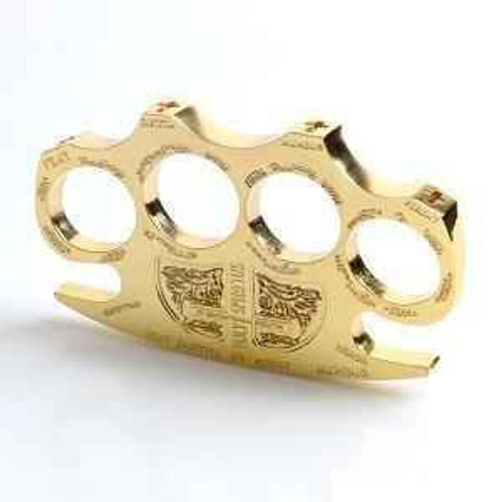 Knockout Knucks Gold Holy Spiritus Constantine Knuckles