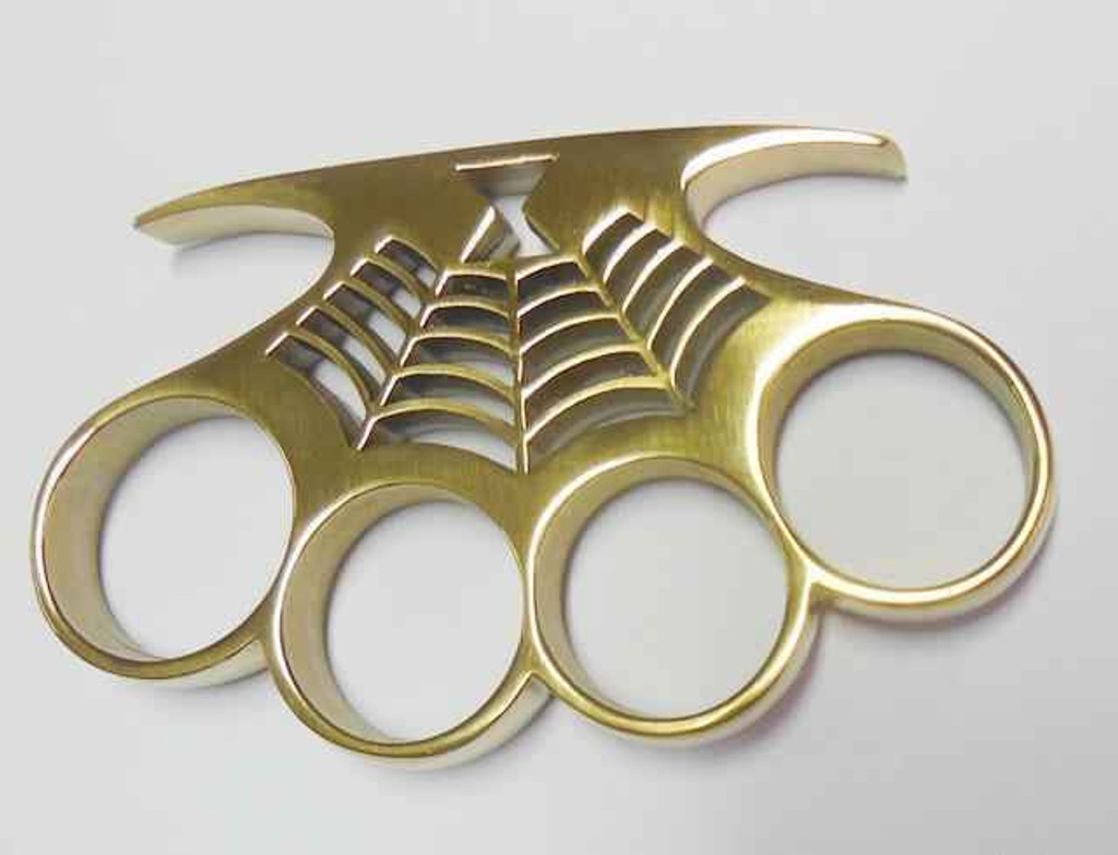Knockout Knucks Deadly Venom Brass Knuckles