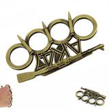Knockout Knucks Gold AK-47 Rifle Brass Knuckles