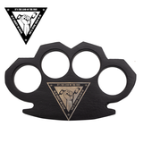 Knockout Knucks Land of The Free Steam Punk Black Knuckles