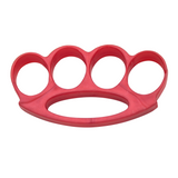 Knockout Knucks Tiger Tactical ABS Unbreakable Plastic Belt Buckle - Red
