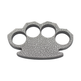 Knockout Knucks Steam Punk Compact Gray Aluminum Knuckles