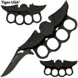 Eagle Trench Knife - Black