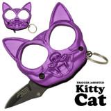 Black Cat Public Safety Jabber and Knife - Purple